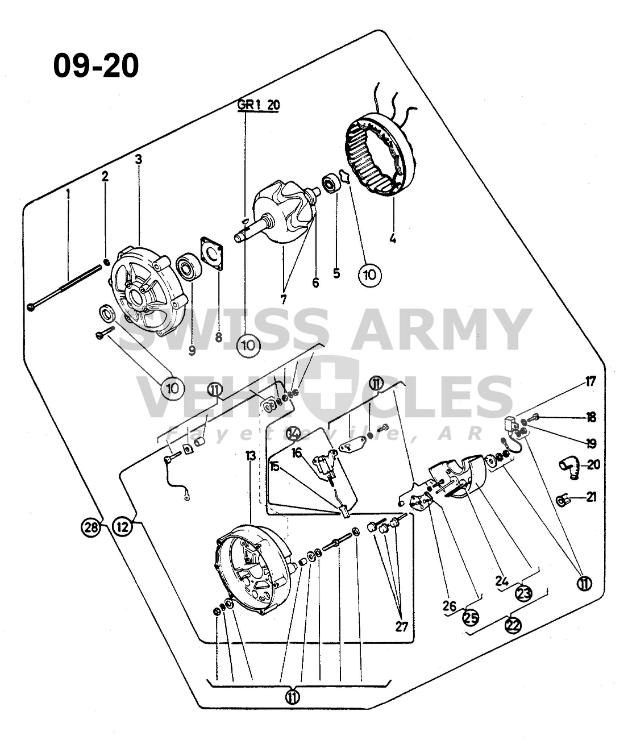 Panel Wiring Of Alternator
