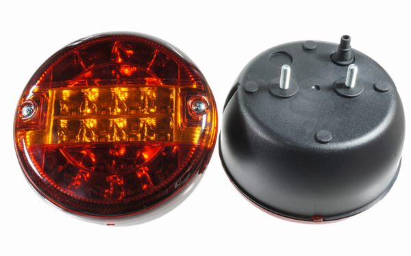 Tail Light LED 12V  Swiss Army Look  pair