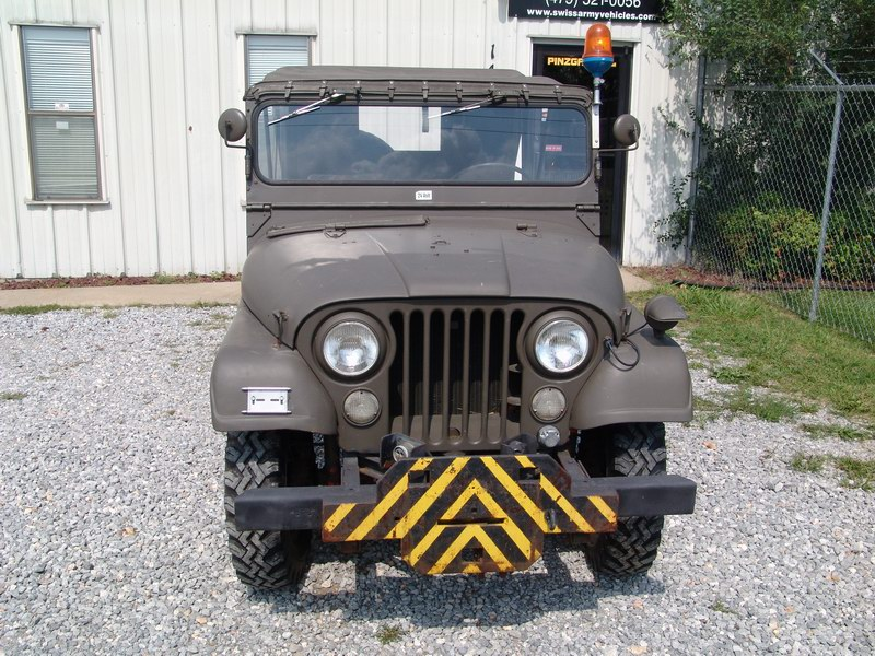 CJ5 Swiss Army M38A1