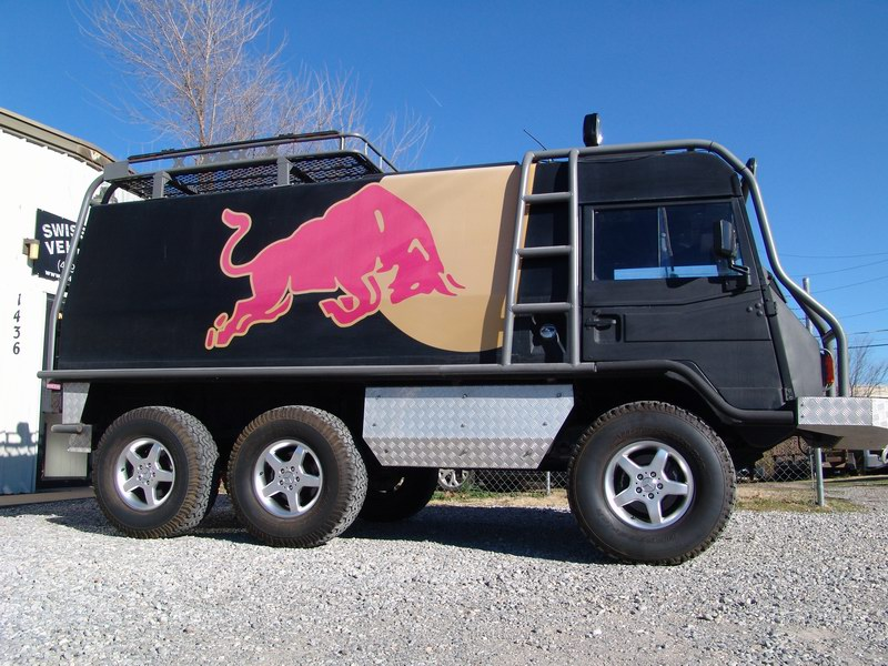 This is a custom Promotional Vehicle used by Red B ..