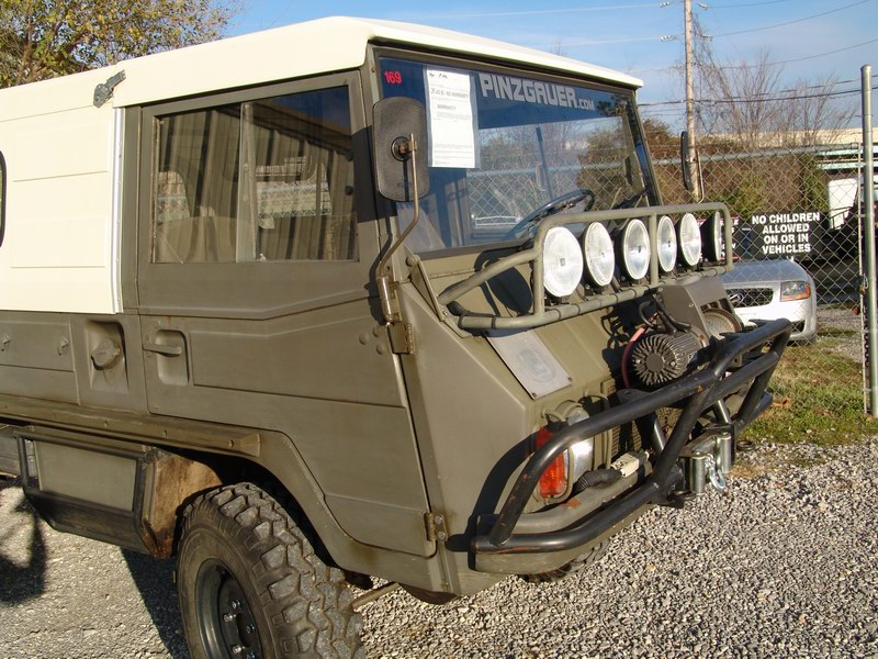 Pinzgauer 710  with 2 piece Hardtop