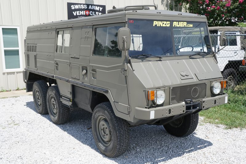 Swiss Army Vehicles