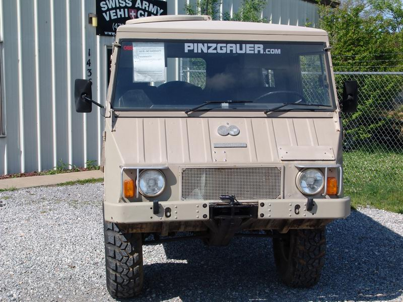 Rare Civilian Pinzgauer not converted from a Milit ..