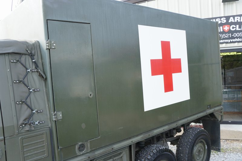 Swiss Army Ambulance in very good condition. Shows ..