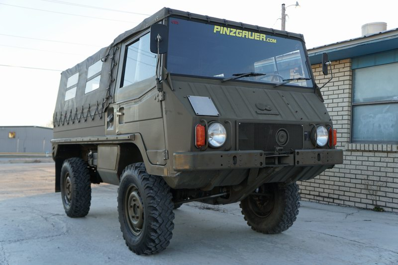 Swiss Army Troop Carrier Good mechanical and body  ..
