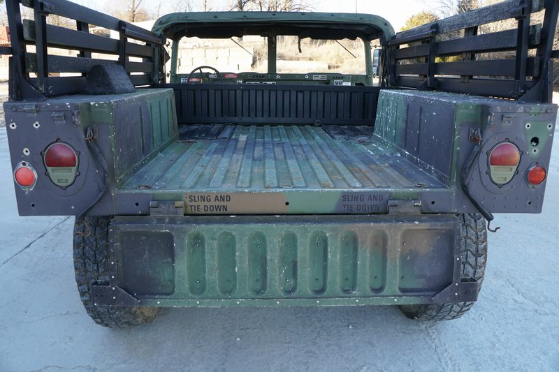 This Humvee was original from the US Military but  ..