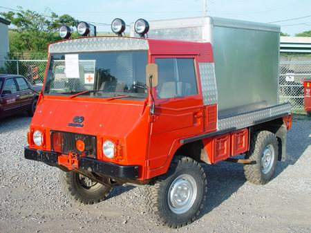 Pinzgauer 710M with Alu Box