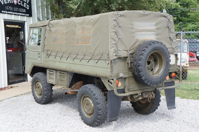 This is a original Swiss Army Troop Carrier with   ..